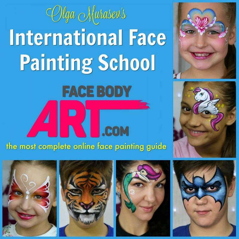 International Face Painting School — The most complete online face painting guide
