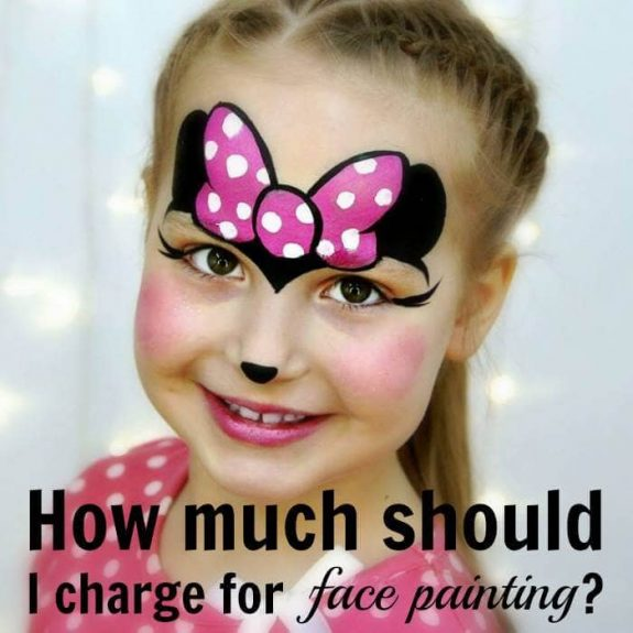 How much should I charge for face painting? REAL PRICES