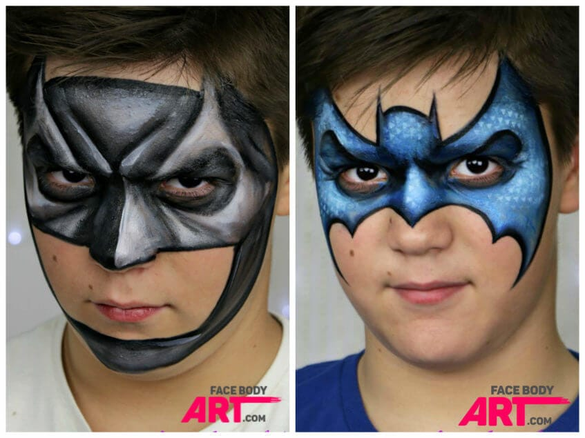 Batman - face painting design