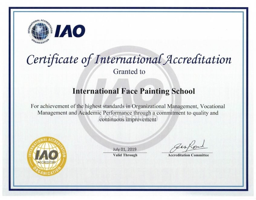 IntFPS Certificate IAO accreditation