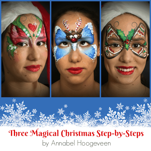 Three Magical Christmas Step-by-Steps by Annabel Hoogeveen