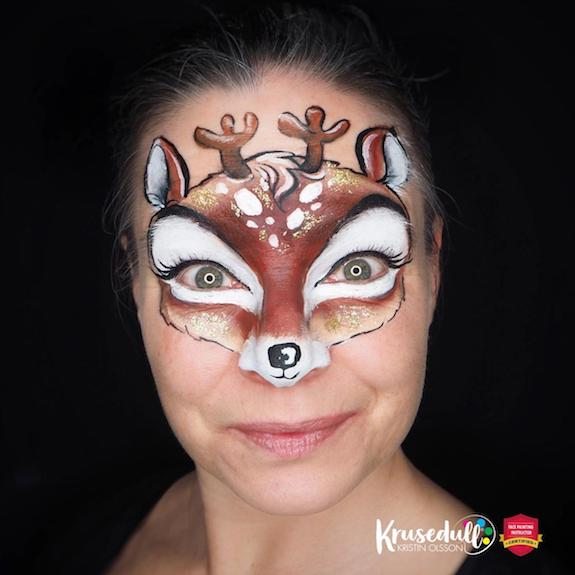 Cute and Easy Christmas Reindeer 🦌 Step-by-Step by Kristin Olsson