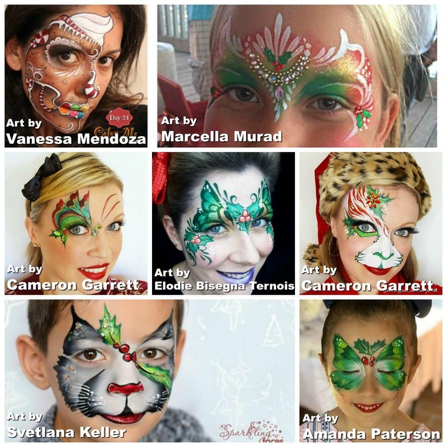 Transforming Your Regular Face Painting Designs for Christmas