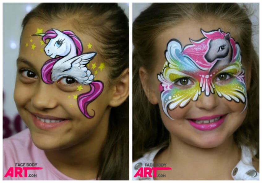 Pony Unicorn - face painting design