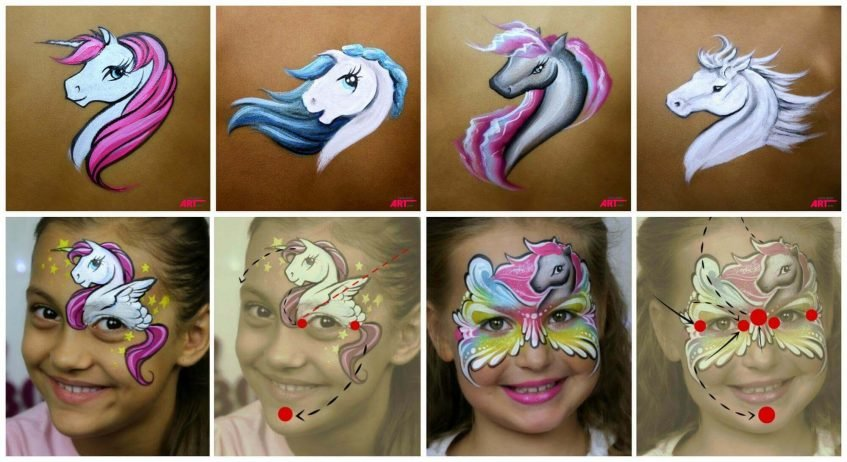 Pony Designs - International Face Painting School