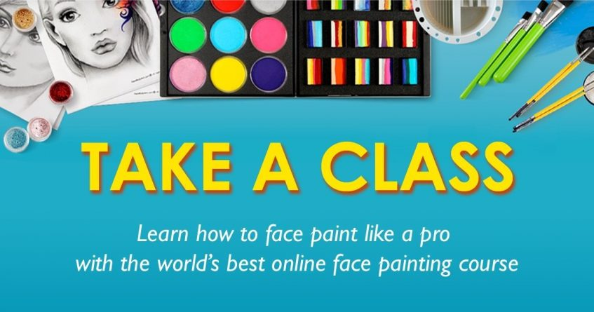 Take a Class at the International Face Painting School