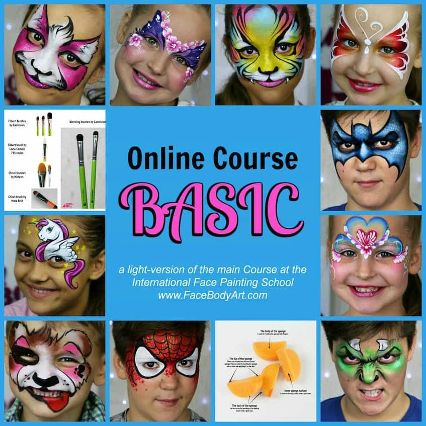 Basic Course - International Face Painting School