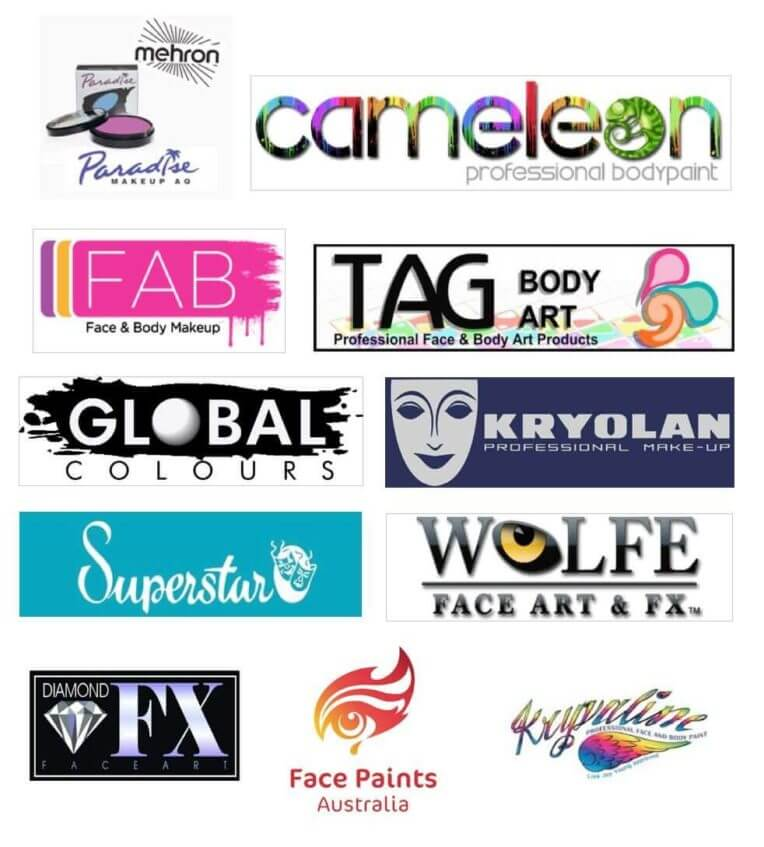 face painting brands